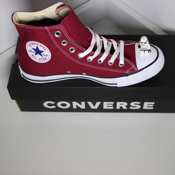 a77826752c93 Maroon Classic Converse All Star High Top